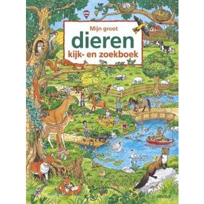 Deltas Mijn groot dieren kijk-en zoekboek