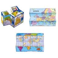 ZooBooKoo kubusboekjes Kubusboek Wereld - continenten