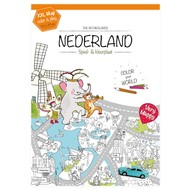 Very Mappy Nederland XXL kleurplaat