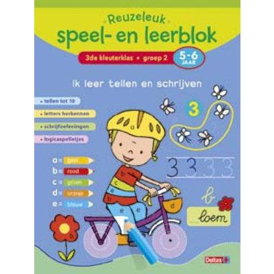 Deltas Reuzeleuk speel- en leerblok Ik leer tellen en schrijven (5-6 j.)
