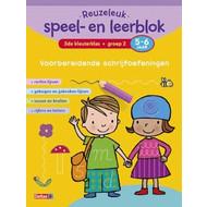 Deltas Reuzeleuk speel- en leerblok Voorbereidende schrijfoefeningen (5-6 j.)