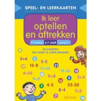 Deltas Speel- en leerkaarten - Ik leer optellen en aftrekken (6-7 j.)