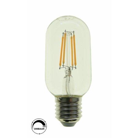 LED filament T45 - E27 Helder