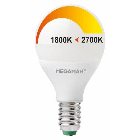 LED ping pong E14 4W 230V - Dim to Warm