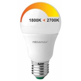 LED A60 E27 6W 230V - Dim to Warm