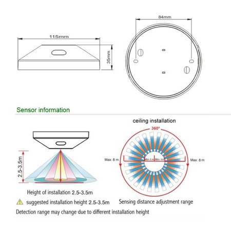 Bewegingsmelder radar + microfoon
