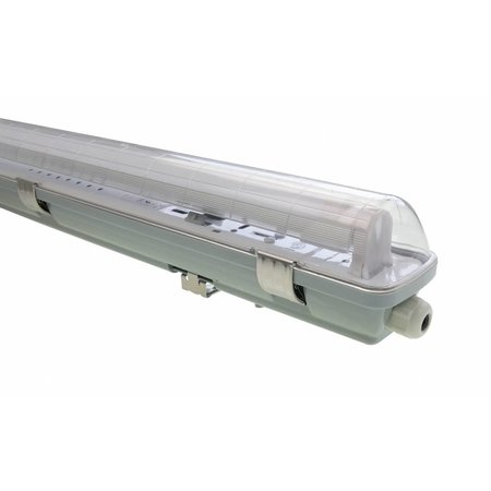 LED TL Armatuur 'slagvast' (PC+PC) 60cm - 1 buis