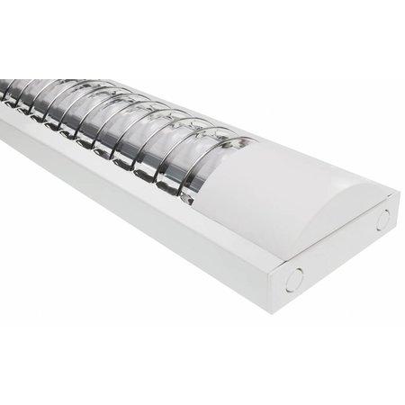 LED TL armatuur softline grill 120cm - 1 buis