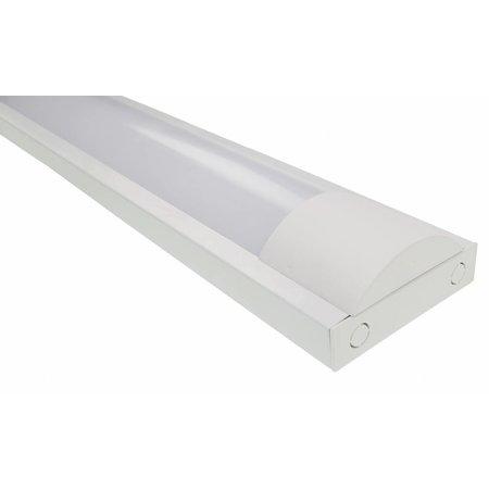 LED TL armatuur softline opaal 120cm - 1 buis