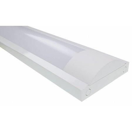 LED TL armatuur softline opaal 120cm - 2 buis