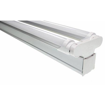 LED TL montagebalk 120cm - 2 buis