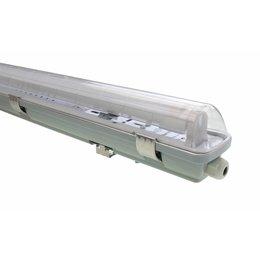 LED TL Armatuur 'slagvast' (PC+PC) 150cm - 2 buis