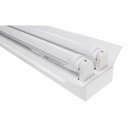 LED TL Trog armatuur 60cm - 2 buis