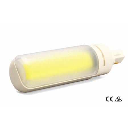 LED PLC lamp 8.5W - G24D-2P