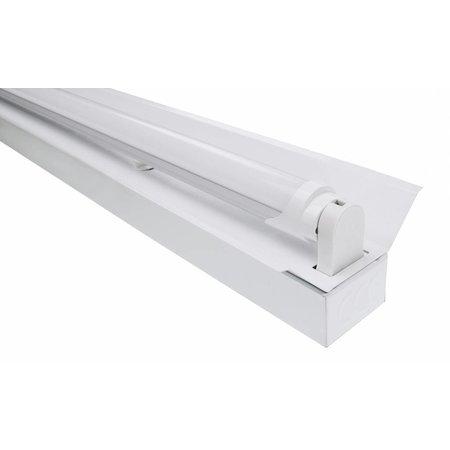 LED TL Trog armatuur 150cm - 1 buis