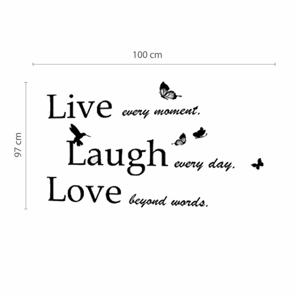Live Laugh Love - Klassiek