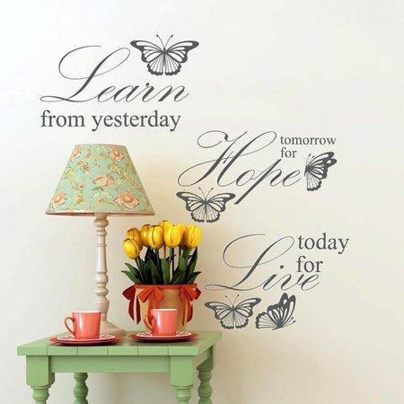 Live Learn Hope - Tekst
