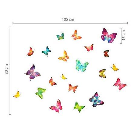 Vlinders 28 stuks