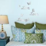 Live Love Laugh + Vlinders spiegel