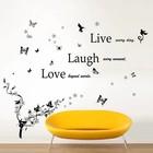 XXL-pakket: Klassieke Live Laugh Love + Bladeren