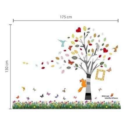 COMBI: Gras met boom en fotoframe
