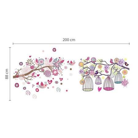 COMB: Grote roze vogel