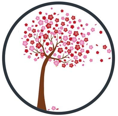 Muurstickers bomen