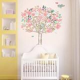 Muursticker vrolijke bloesem boom