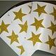 Muursticker  sterren glitter zilver