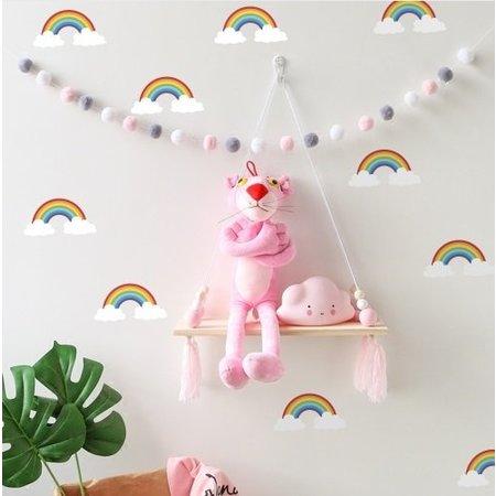 Muursticker regenboogjes