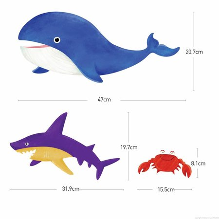 Muursticker zeedieren