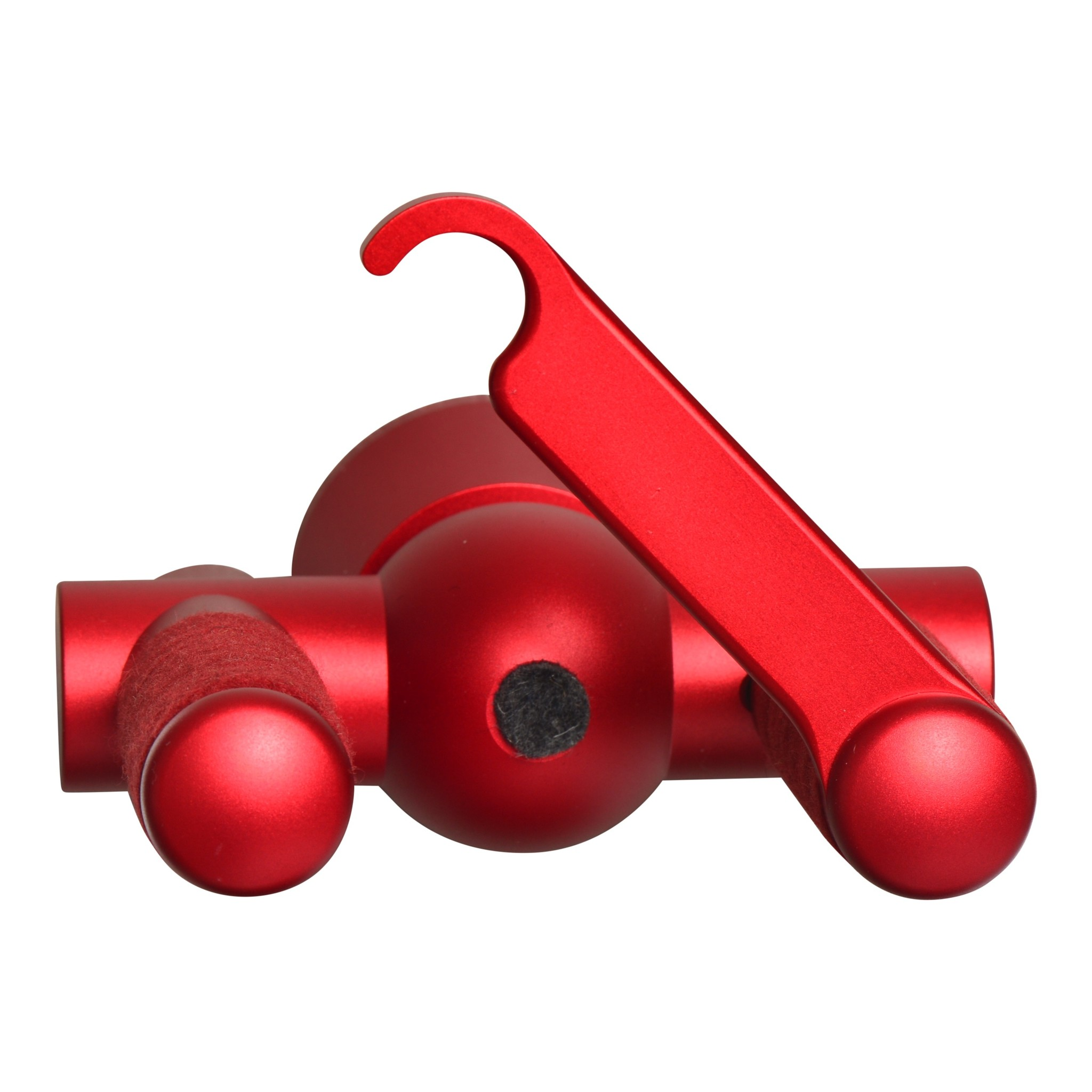 Aluminum Guitar Lock Red