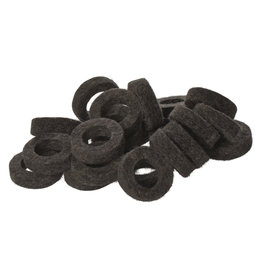 Natural Felt rings Anthracite