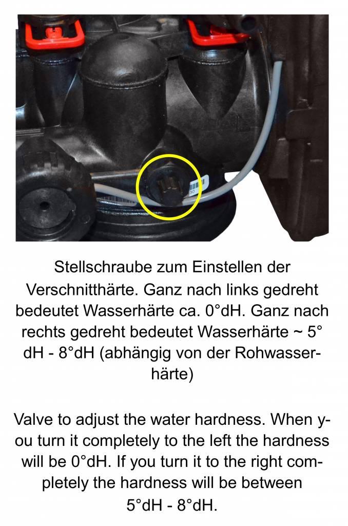 LFS CLEANTEC Wasserenthärtungsanlage IWSC 1000 mit CLACK Steuerkopf