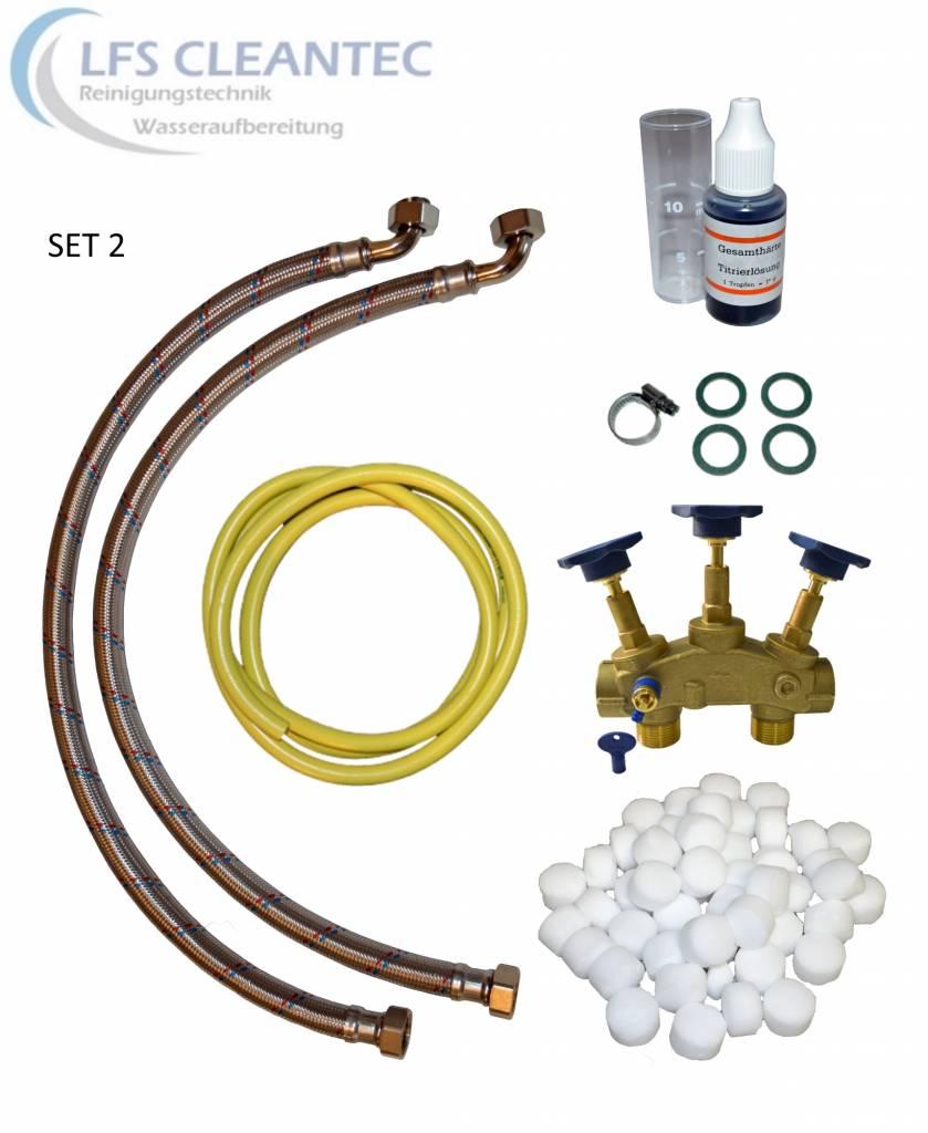 LFS CLEANTEC Wasserenthärtungsanlage IWSC 2000 mit CLACK Steuerkopf