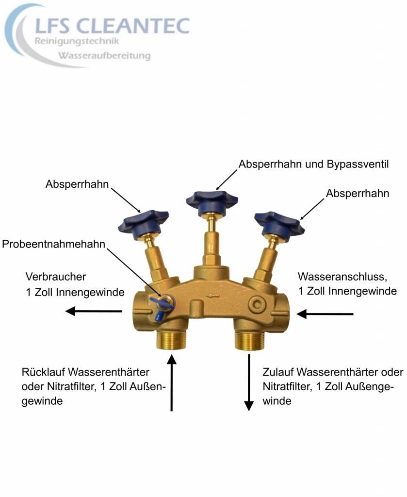 LFS CLEANTEC Water softener IWSC with 30 liters ion exchange resin