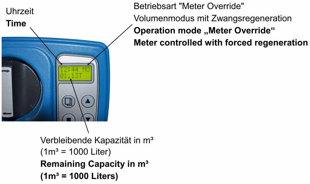 LFS CLEANTEC Wasserenthärter IWK 800 - Entkalkungsanlage im platzsparenden Kabinettgehäuse
