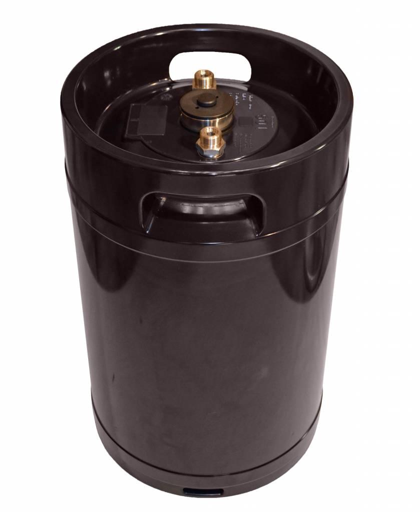 LFS CLEANTEC Vollentsalzungspatrone IVEE 5000 - Mischbettpatrone mit Drucktank aus Edelstahl