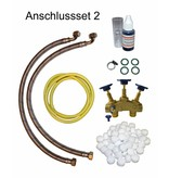 LFS CLEANTEC Wasserenthärter IWK 1500 - Entkalkungsanlage im platzsparenden Kabinettgehäuse