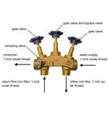 LFS CLEANTEC Enteisenungsanlage FEB 120 - Eisenfilteranlage für Brunnenwasser mit CLACK Steuerkopf