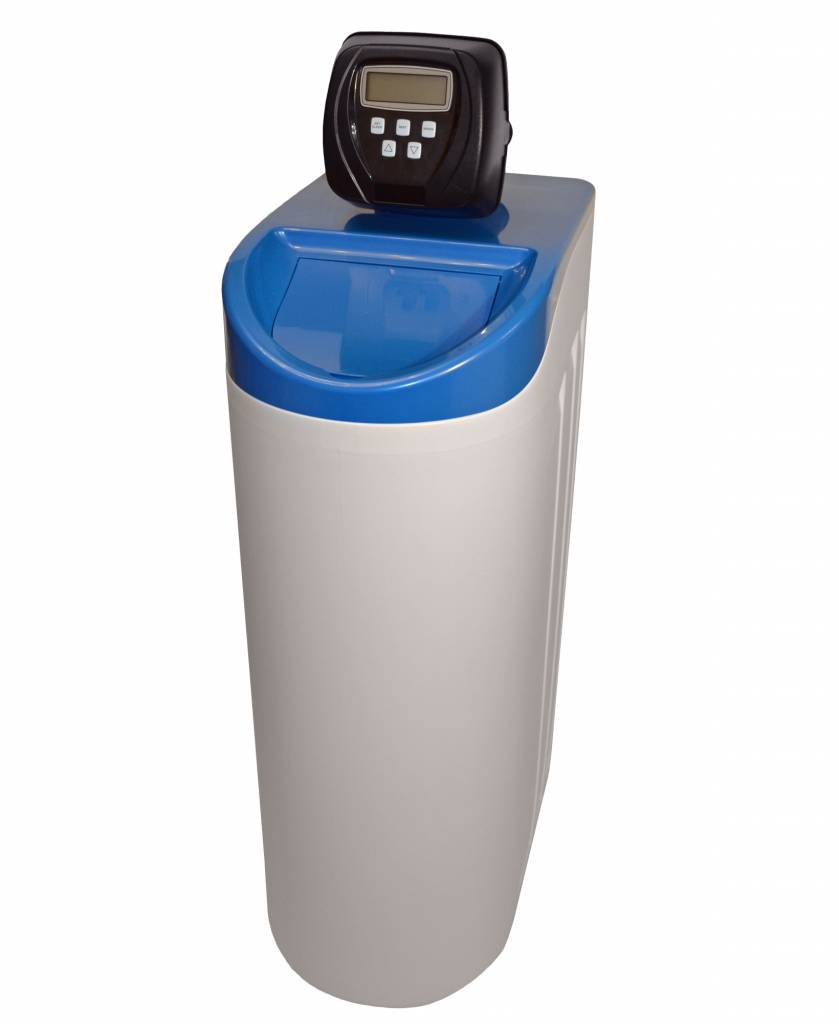 LFS CLEANTEC Water Softener with large salt storage and resin quantity