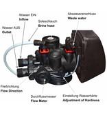 LFS CLEANTEC Wasserenthärter IWKC 1000 - Entkalkungsanlage mit hochwertigen CLACK Steuerkopf