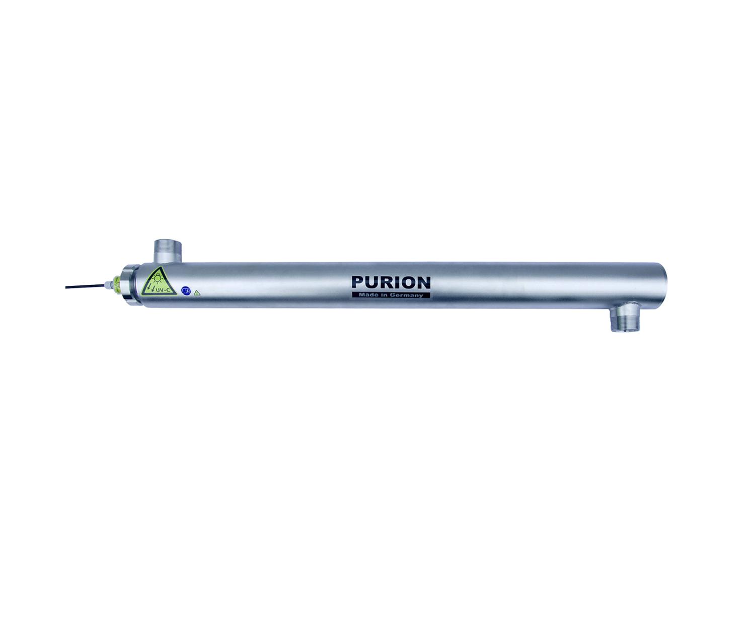 Purion UV-Gerät für große Durchflussleistung