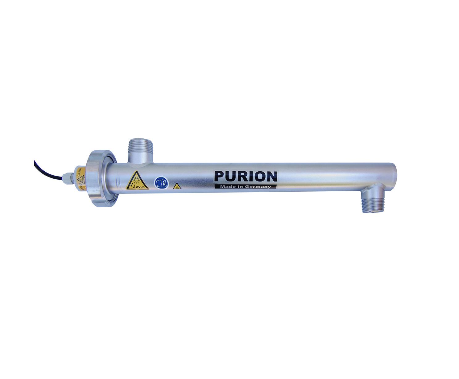 Purion Wasserentkeimung mit UV-Geräten von Purion
