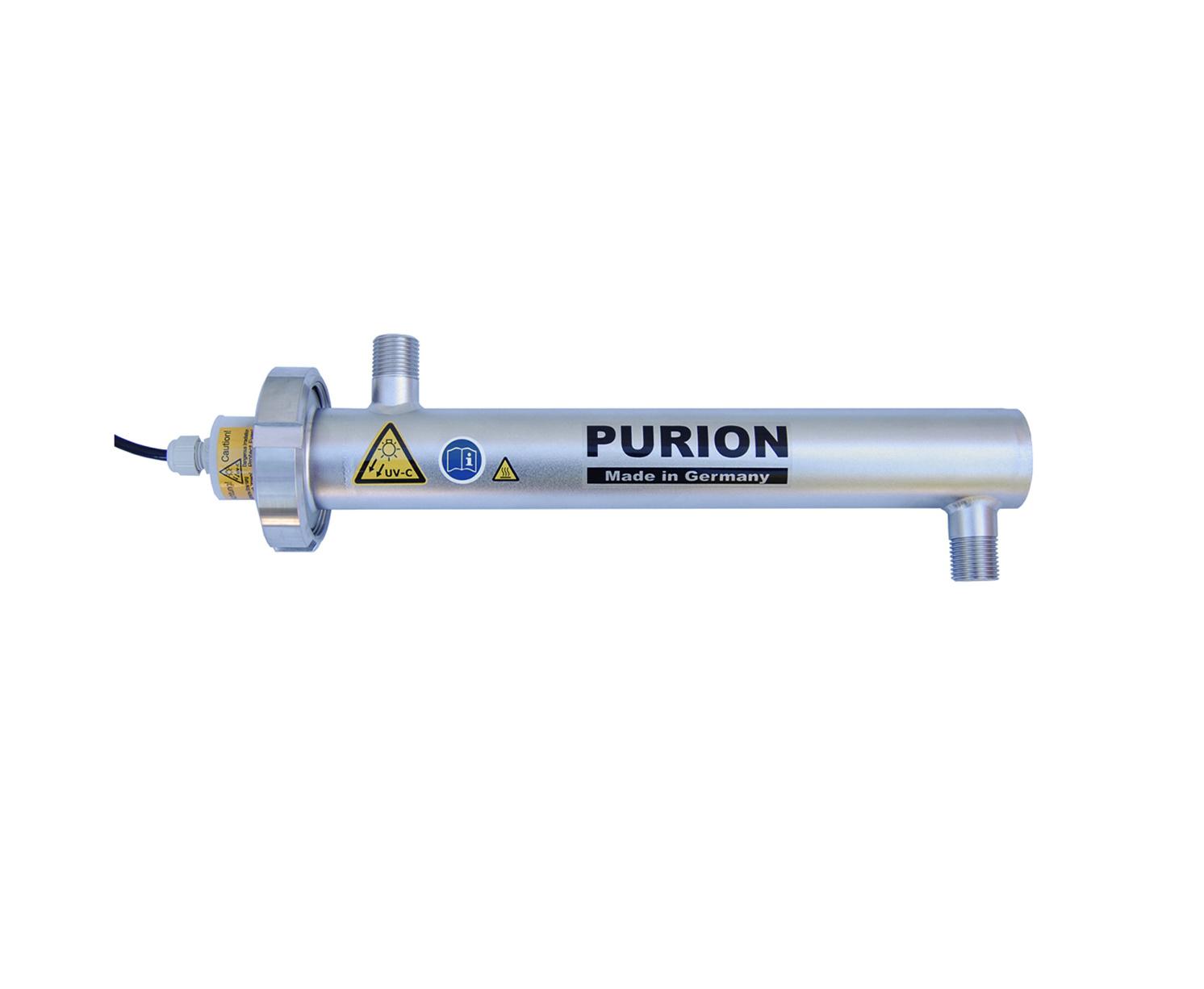 Purion Sichere Entkeimung von Trinkwasser