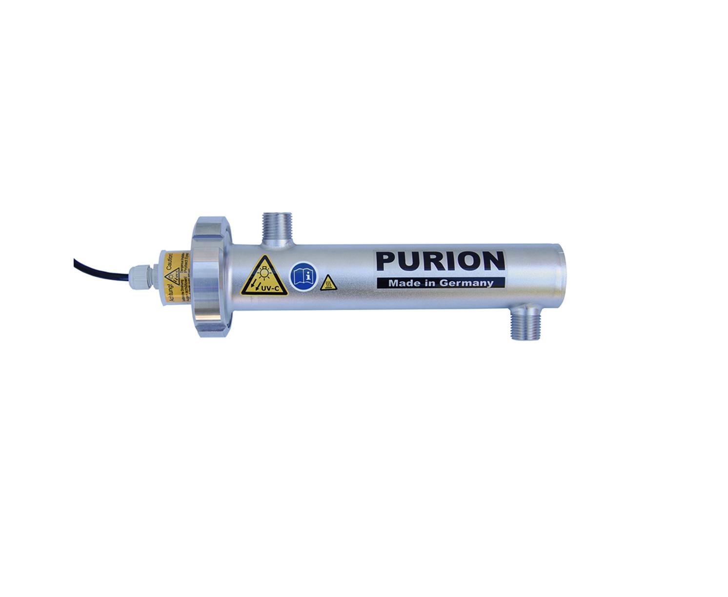 Purion Desinfektion von Wasser mit UV Licht