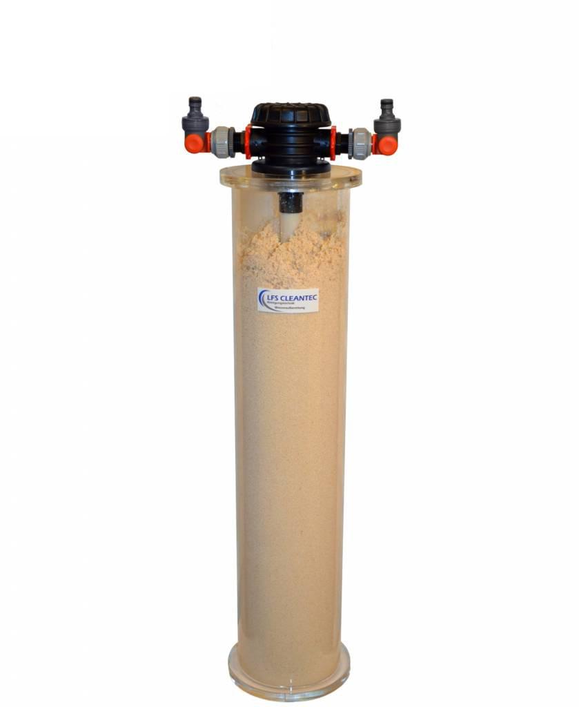 LFS CLEANTEC Nitratfiltersäule mit 20 Liter Nitratharz