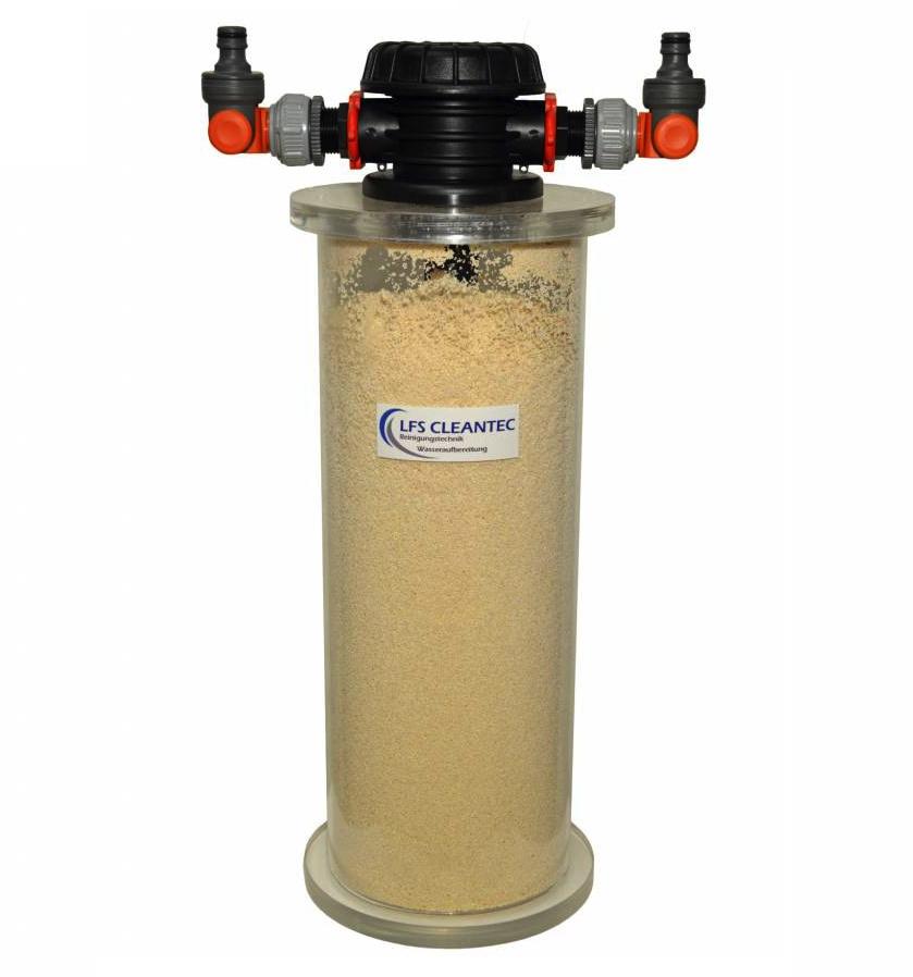 LFS CLEANTEC Nitratfilter mit 5 Liter Harzinhalt