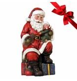 Schneemann Calmy - Weihnachtsfigur perfekt für die Dekoration zu Heiligabend