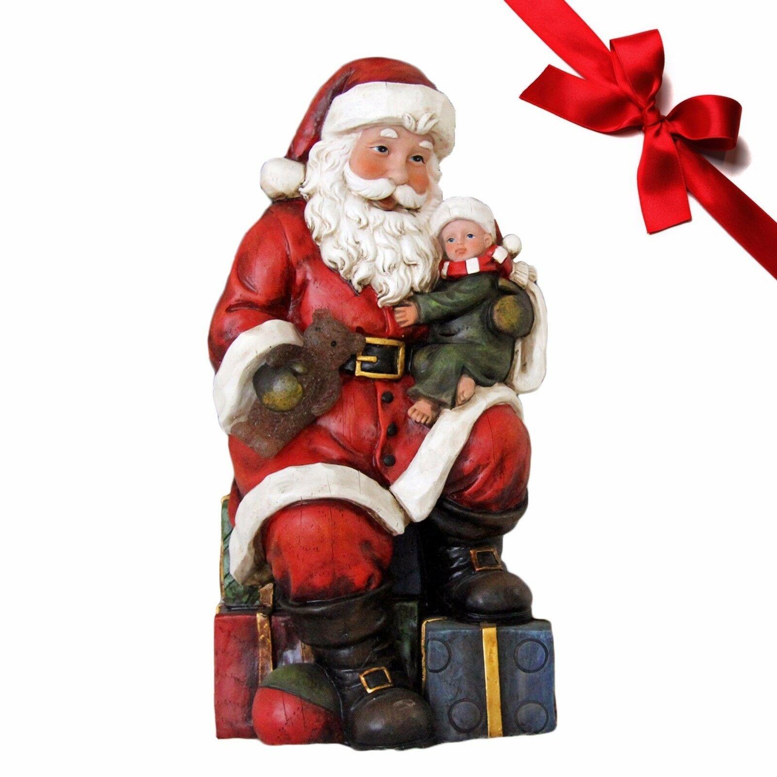 Lilia´s Figuren Schneemann Calmy - Weihnachtsfigur perfekt für die Dekoration zu Heiligabend
